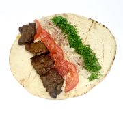 Beef  Shish Kabob Wrap