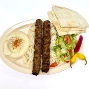 Beef Kafta (Luleh) Plate