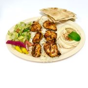 Chicken Shish Kabob Plate