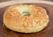 *Asiago Spinach Bagel
