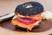 Sliced Nova Lox Bagel