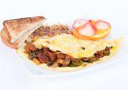 Chorizo Omelette