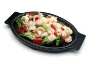 Seafood Sizzling Plate